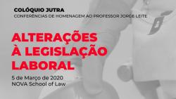 coloquio jutra 2020 alteracao legislacao laboral