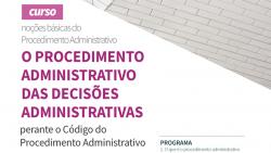 curso procedimento administrativo decisoes administrativas