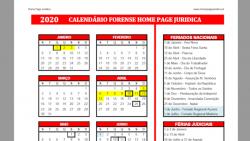 calendario forense hpj 2020