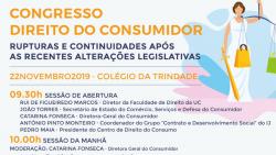 congresso direito consumidor 22 novembro 2019