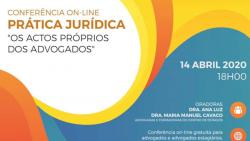conferencia online pratica juridica atos proprios advogados