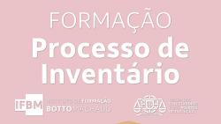 formacao processo inventario osae