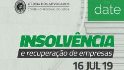 conferencia insolvencia recuperacao empresas 16 julho 2019