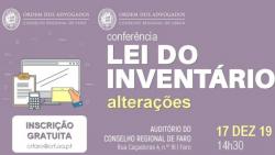 conferencia lei inventario dezembro faro 2019