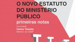 conferencia novo estatuto ministerio publico