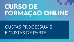 curso formacao online custas processuais