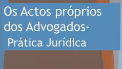 conferencia atos proprios advogados oaevora